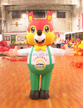 2015 Hot-selling cheap custom inflatable fox