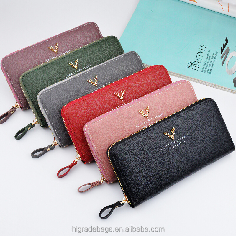 2018 new style young girl wallet