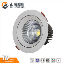 China Supply Bis Certificate Ultra Thin High Lumen Adjustable Portable Recessed Cob Led Spotlight