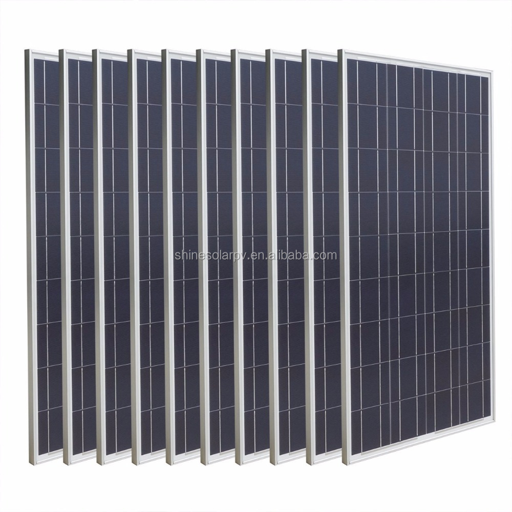 factory price poly solar panels 36v 250w 260w 270w 280w for solar system