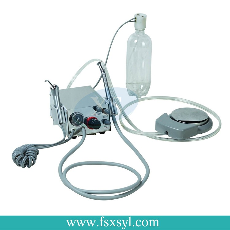 Desk-top turbine portable dental unit hot sale