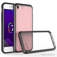 2016 Hot New Products For iPhone 7 7p Case Ultra Thin Clear Crystal Transparent Acrylic TPU Case Cover