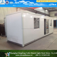 China cheap container house/modular flat pack home/container office hotel for sale