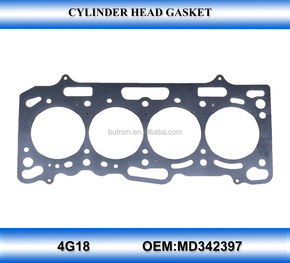 for 4G18 cylinder head gasket OEM MD342397 auto parts wholesale