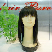 indian hair full silk base lace wig,remy kinky twist braided lace wig, natural india hair wig price