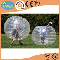 China factory price top sell inflatable body zorb ball / bubble suit