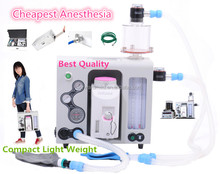 Portable anesthesia machine with tube flow meter/ for small animals / table-top