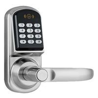 Smart door handles and locks