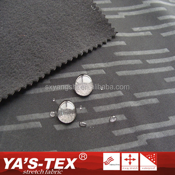 Wholesale Water Resistant Polyester Polar Fleece Bonded Dry Fit Fabric For Jacket