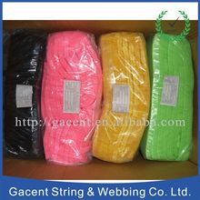 Wholesale 1 inch solid fold over elastic