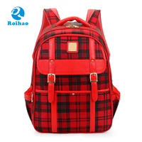 Roihao british style cheap 2017 new design school bag, school backpacks china