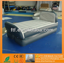 2015 hot sale decoration 1.8m L PVC flocking fabric Inflatable bed