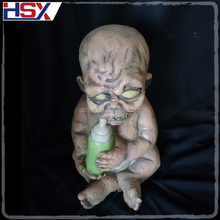 Hotest Halloween Party Decoration Haunted House Props Sucking Bottle Horror Baby Zombie