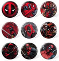 Custom Marvel Collectibles Deadpool Badge Pins