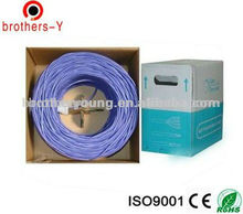 network flat cable utp/ftp/stp/sftp cat 5e lan cable