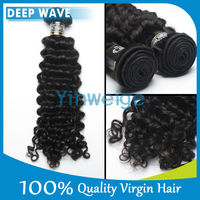 "20"" Deep Wave Indian Temple Remy Loop Micro Ring Hair Extension"