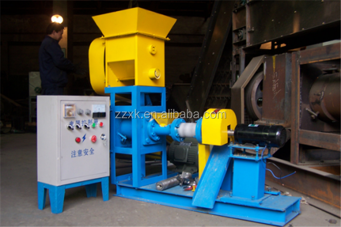 Best quality floating animal fish food feed pelleting making extruder machine