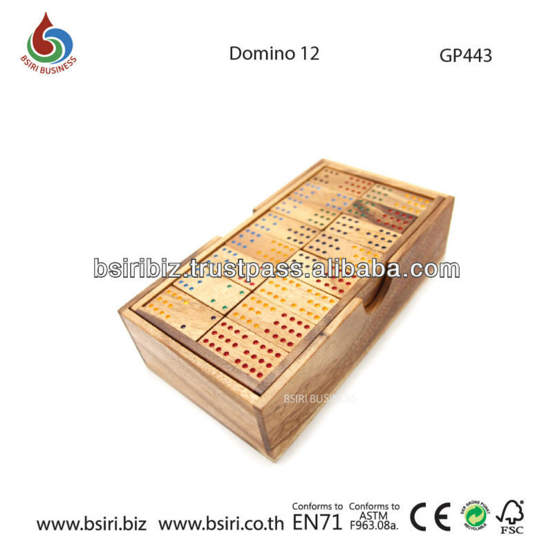 wooden puzzle backgammon and checkers