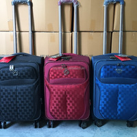 900d Jacquard Material Luggage