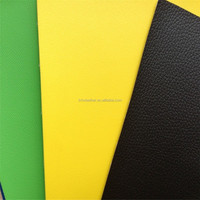 various lichee PVC leather for bags DH115