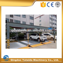 high quality commercial three layers lifting and sliding mechanical parking system