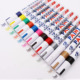 Permanent Tyre Fix Car Scratch Pen, Metal ,Paint Markers, Ultra Fine Point, Assorted Colors