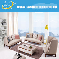 Small Corner Living Room Sofa, Modern Fabric Corner Sofa