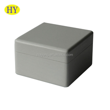 Custom Small Wooden Box for Jewlery Packaging with Hinged Lid Wholesale