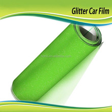 Fashional Car Body Sticker PVC Protection Film 1.52*30m with Glitter Pearl Self Adhesive Bubble Wrap