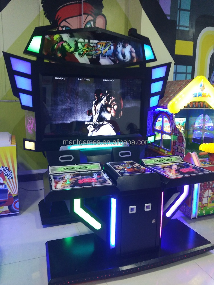 The most attractive coin operated super street fighter 4,arcade video game machine