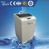 coin/card operated laundry washing machine with single tub