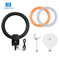 Best seller xxx video led light tube NanGuang CN-65CPro photography dimmable camera fluorescent light ring led circle light