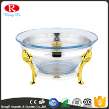 Cheap Fancy Glass Chafing Dish/Chafing Pot/Hot Food Warmer Buffet Server for Sale