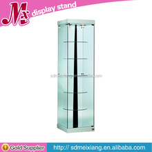 MXJ034 acrylic display case with locker / plastic display cabinet / rotating display stand