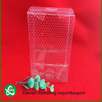 Wholesale PVC/PET/PP high quality customized plastic clear box