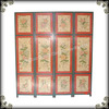 Promotional home decor rustic floor distressed decorative screen