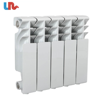 Hot water home heating aluminum radiator