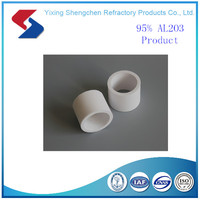 High heat resistant Industrial alumina refractory ceramic raschig ring