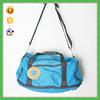 YTF-P-LXB082 Fashion Blue Soft Duffel Bag Women's Travel Storage Bag For Weekend Travelling