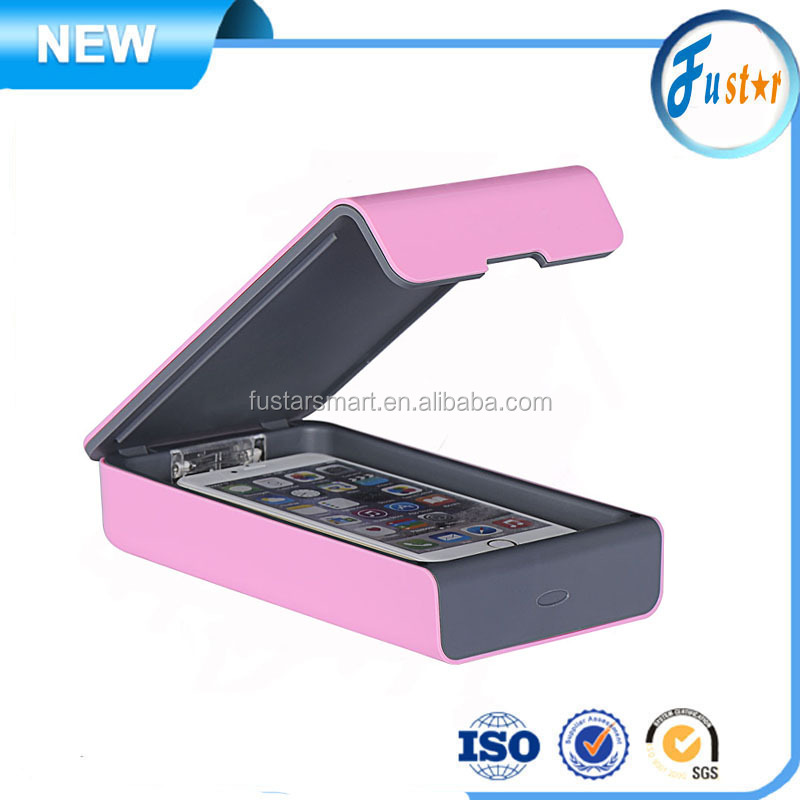 Factory directly Mobile sterilizer / phone sanitizer / uv sterilizer box for Jewelry / key