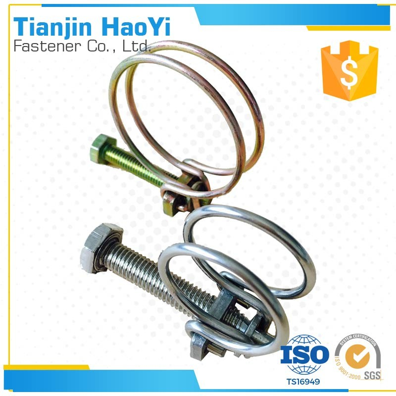 Small Diameter Cable : Small diameter wire drain cleaner hose spring clamp of