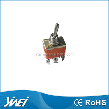 E-TEN 223 Heavy duty Momentary (ON)-OFF-(ON) Centre Off toggle switch 15A 250VAC
