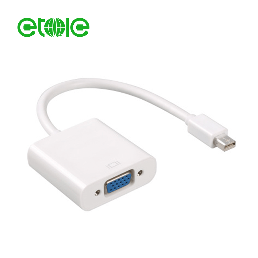 dp to vga adapter for iphone valuetom mini displayport male to vga female