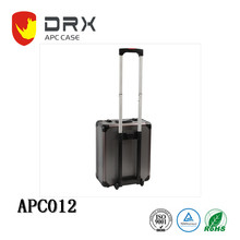 Silver Aluminum Travel Carrying Tool Trolley Case with Wheels