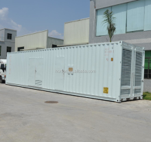 With Cummins KTA38 engine 600kw power diesel generator set 750kva soundproof generator