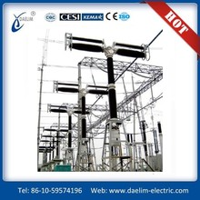 550KV SF6 Gas Live Tank Electrical Circuit Breaker