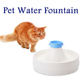 Multi Drinking Levels Waterfall Circulating Pet Drinker with luxury pet Water Fountain
