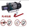 Electric winch 12v 15000LB with rope /CE certification /off-road winch