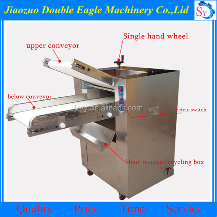 Easy to operate multifunction rondo dough sheeter/stainless steel puff pastry making machine