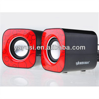2.0-CH laptop speaker mini mp3 speaker